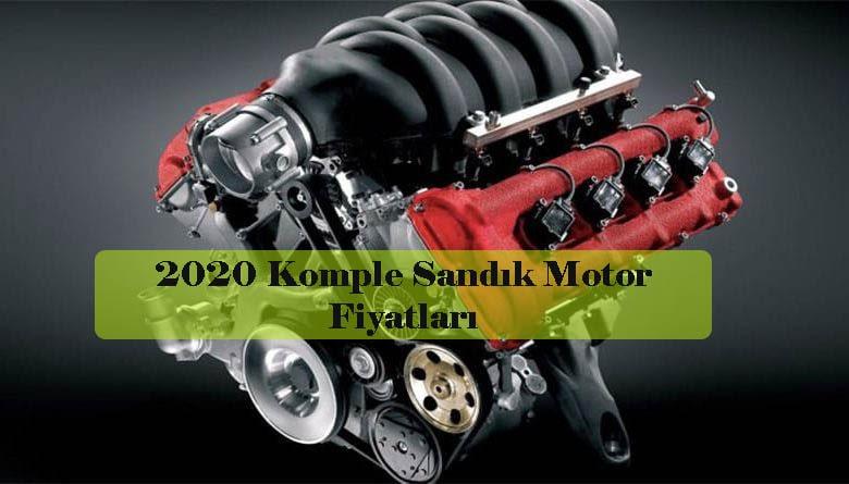 2020 Komple Sandık Motor Fiyatları