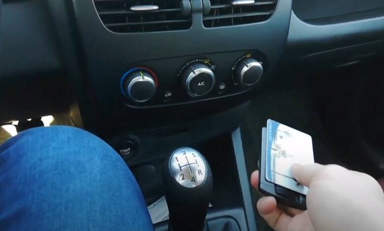 Renault Clio 4 Kart Tanınmadı Hatası